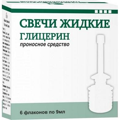глицерин свечи жидкие
