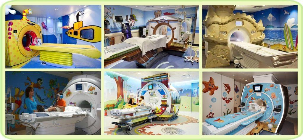 детский аппарат МРТ
